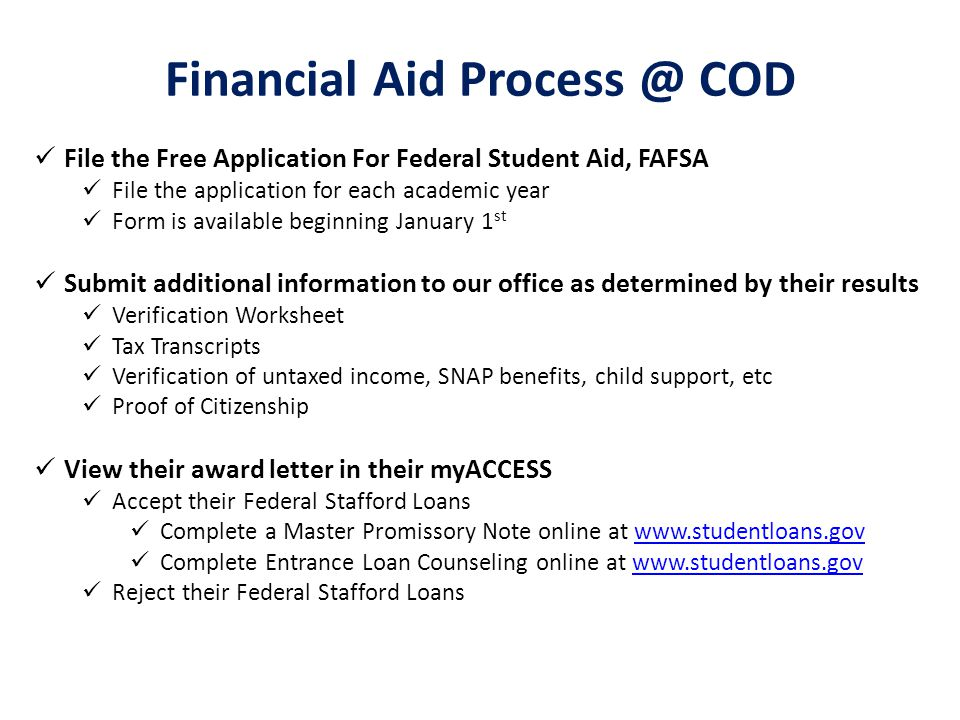 Fraud Financial Aid and Online courses and how faculty can help – Federal Verification Worksheet