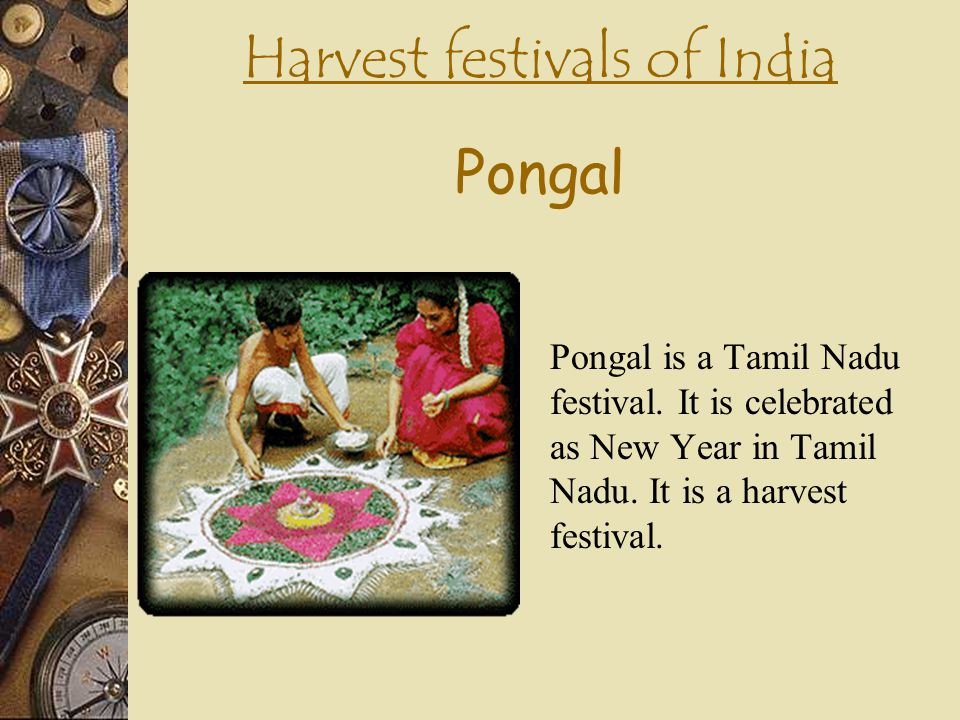 Harvest festivals of India