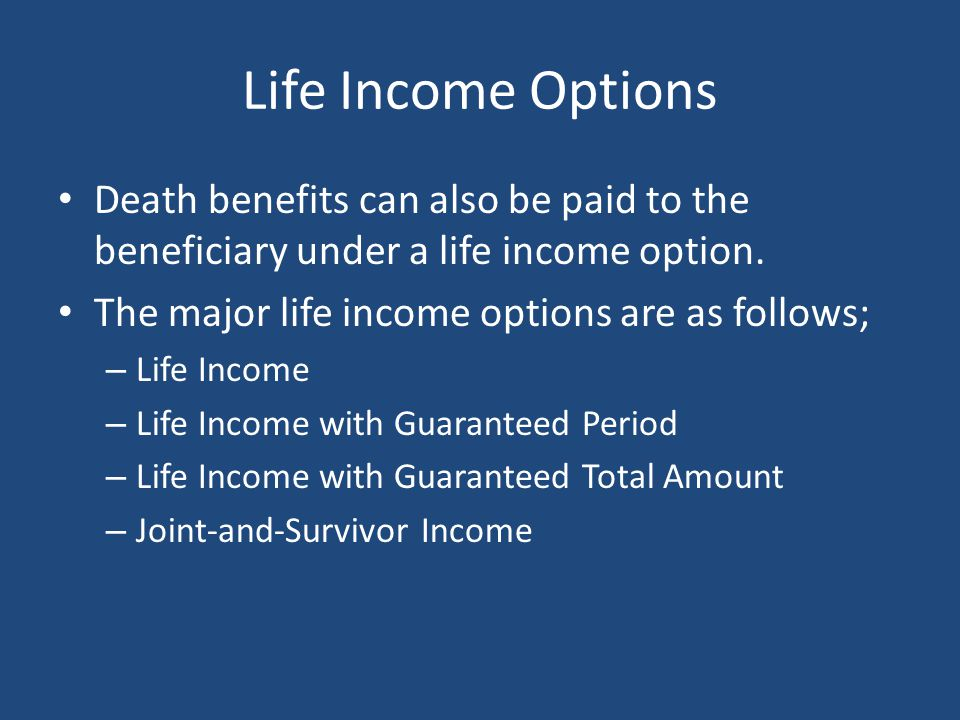 Life Insurance Death Benefit Options | Lump Sum or Over Time?