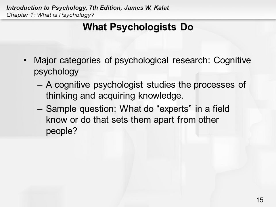 What is Cognitive Psychology? - Definition & Theories ...