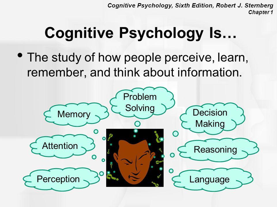 memory cognitive psychology Ogy, learning and memory, and introductory psychology applying cognitive psychology to education 3 in other cases, the strategy has been shown to work in some.