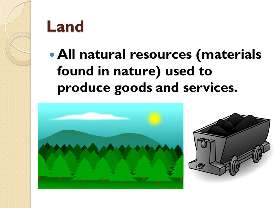 Factors of production factor resources ppt download for Waste material to useful products