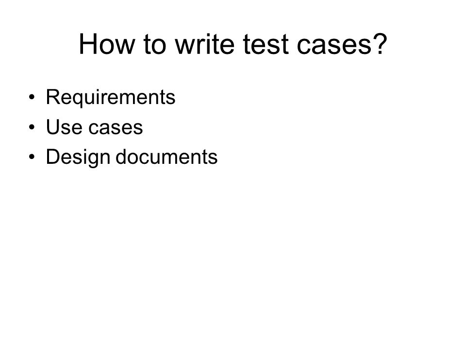 writing use cases With all the craze about use cases lately, you'd think that no collection of requirements documentation would be complete without at least one, and perhaps several, use cases.