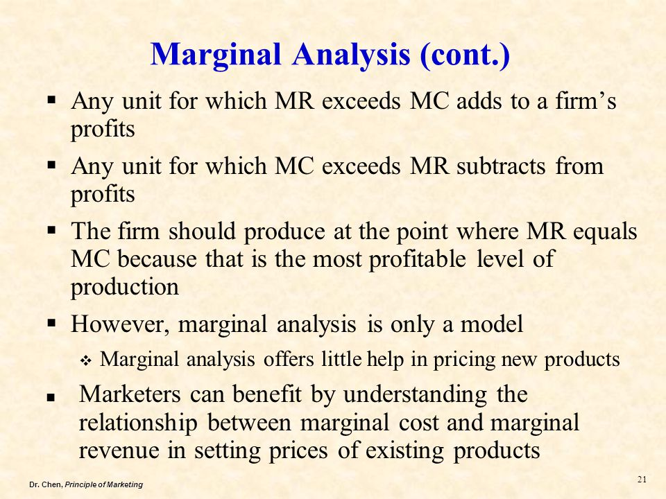 marginal cost and benefit relationship quizzes
