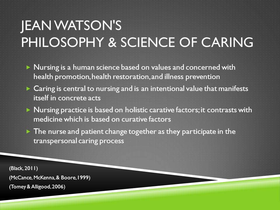 How to Integrate Jean Watson's Theory of Caring Into Nursing Practice