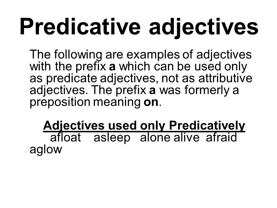 Examples of Adjectives  List of Adjectives  Grammarist