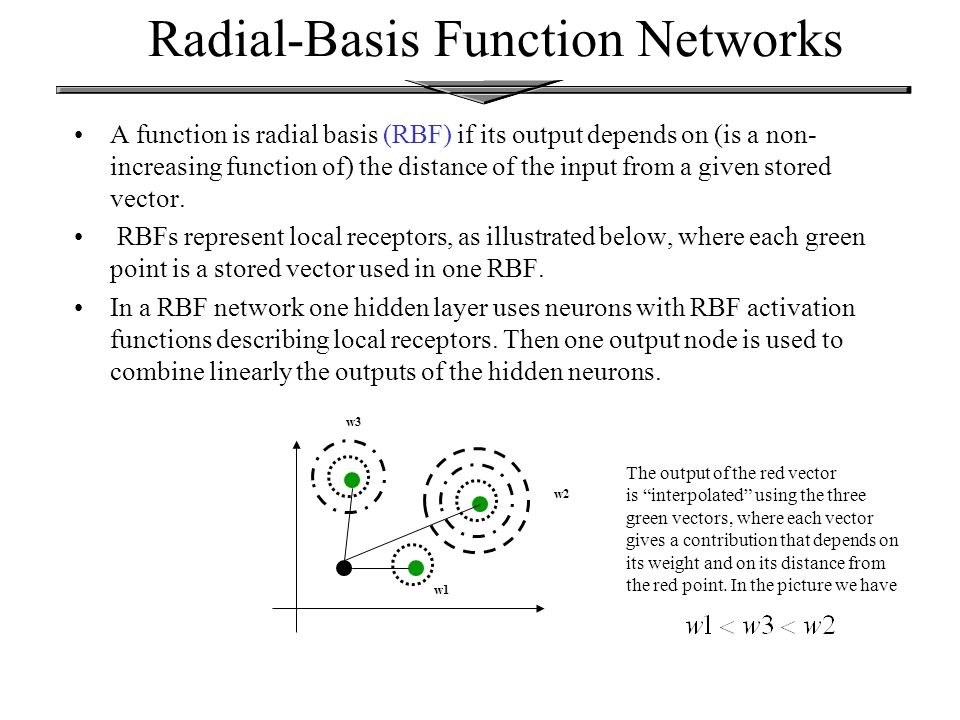 Radial basis function network ppt.