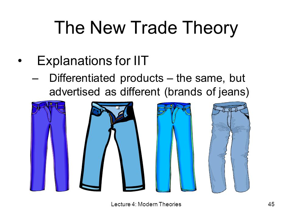 new trade theory New trade theories and developing countries: policy and technological implications by samuel wangwe unu/intech working paper no 7 june 1993 contents 1 background 1 2 trade theory and policy options 3 21 introduction 3 22 conventional trade theory.