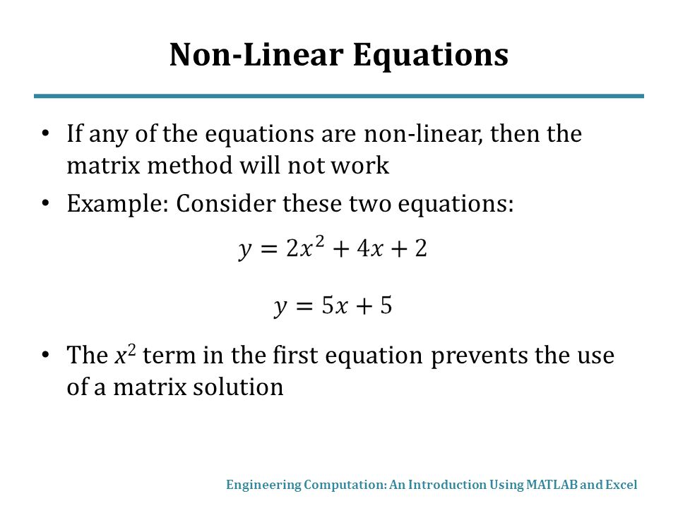 essay non linear equations Linear motion is the motion college essay financial well again to solve that let's look at a couple of equations okay first off the distance.