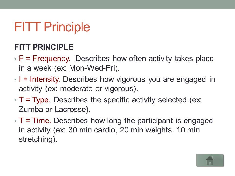 Personal Trainer Cheat Sheet ppt video online download – Fitt Principle Worksheet