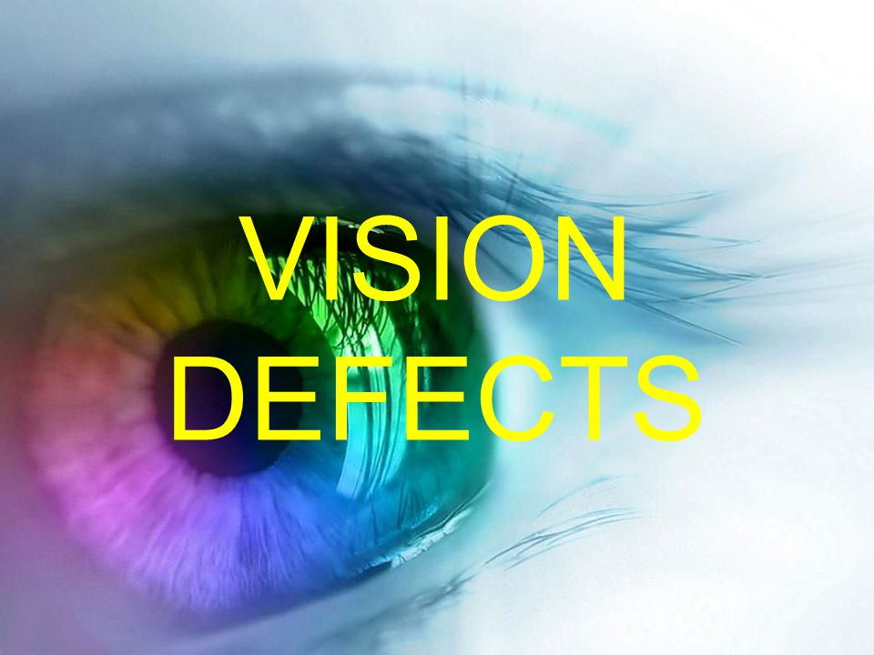 VISION DEFECTS