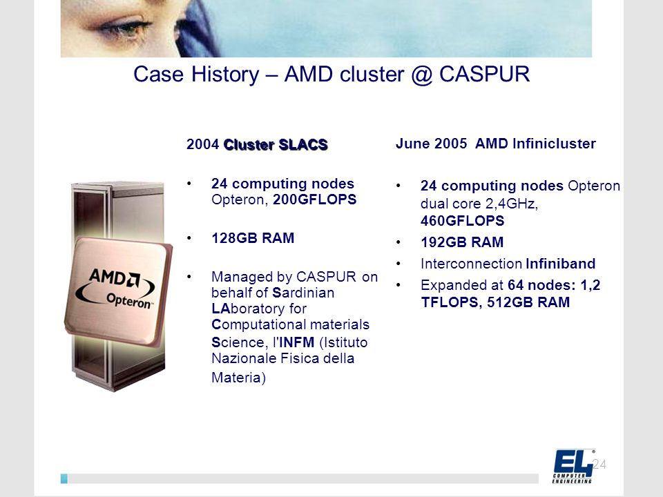Case History – AMD cluster @ CASPUR