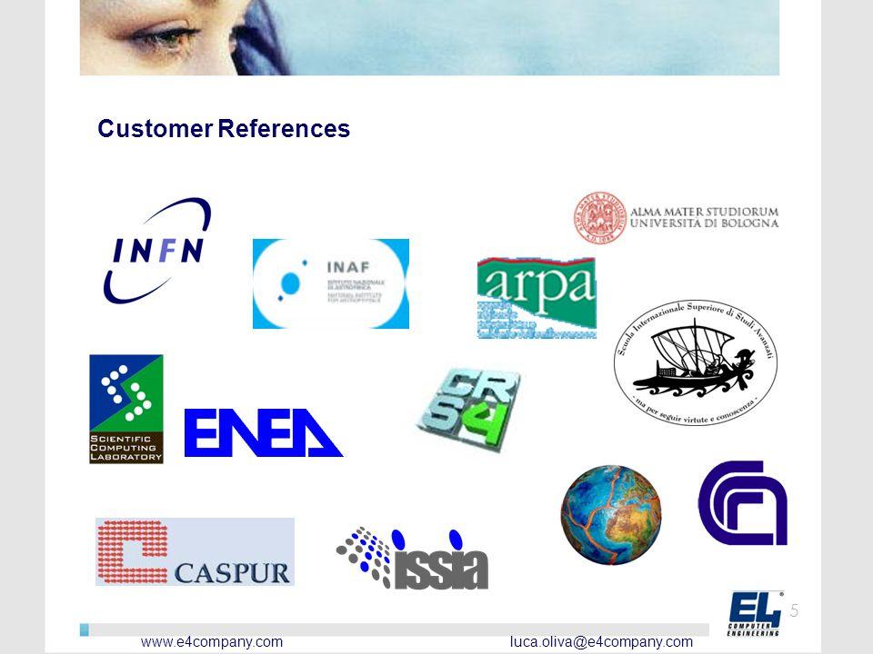 www.e4company.com luca.oliva@e4company.com