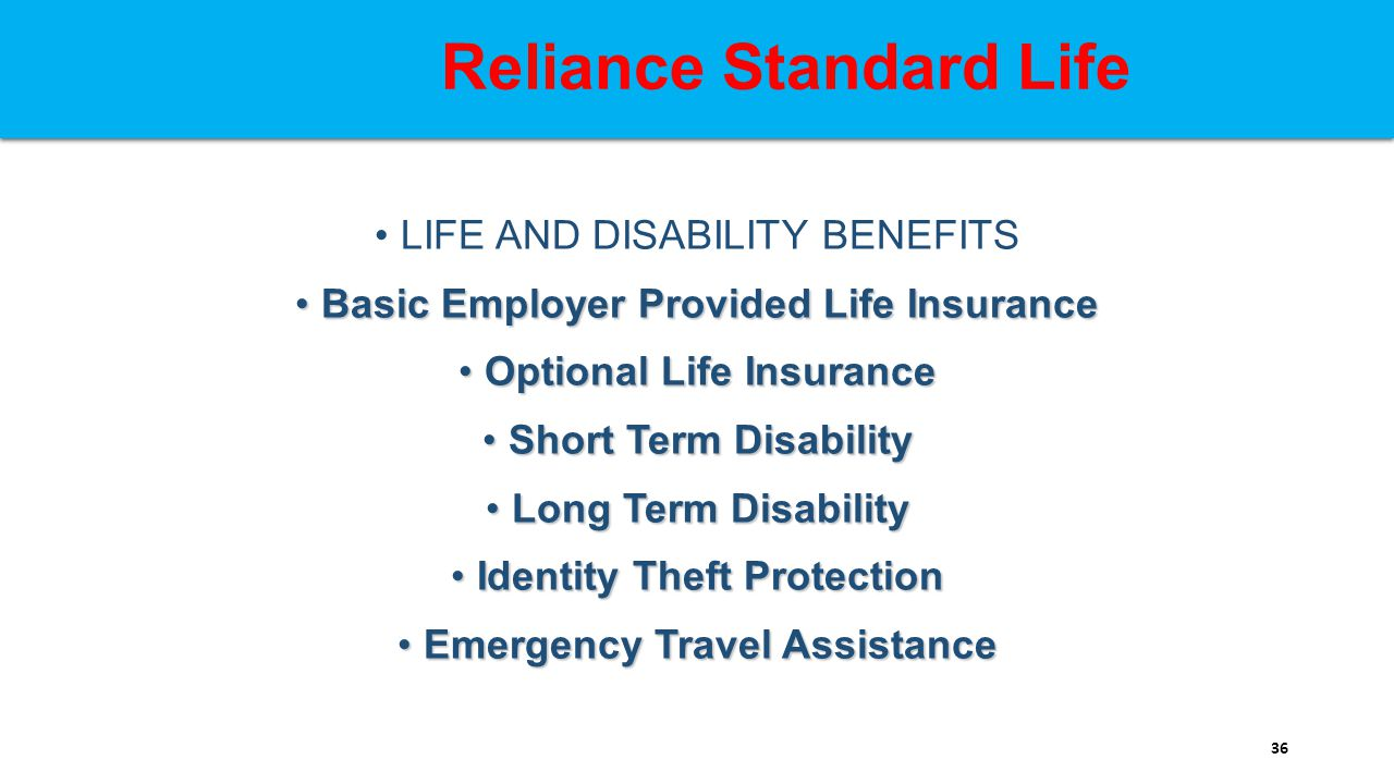 Better benefits through collaboration ppt download reliance standard life falaconquin