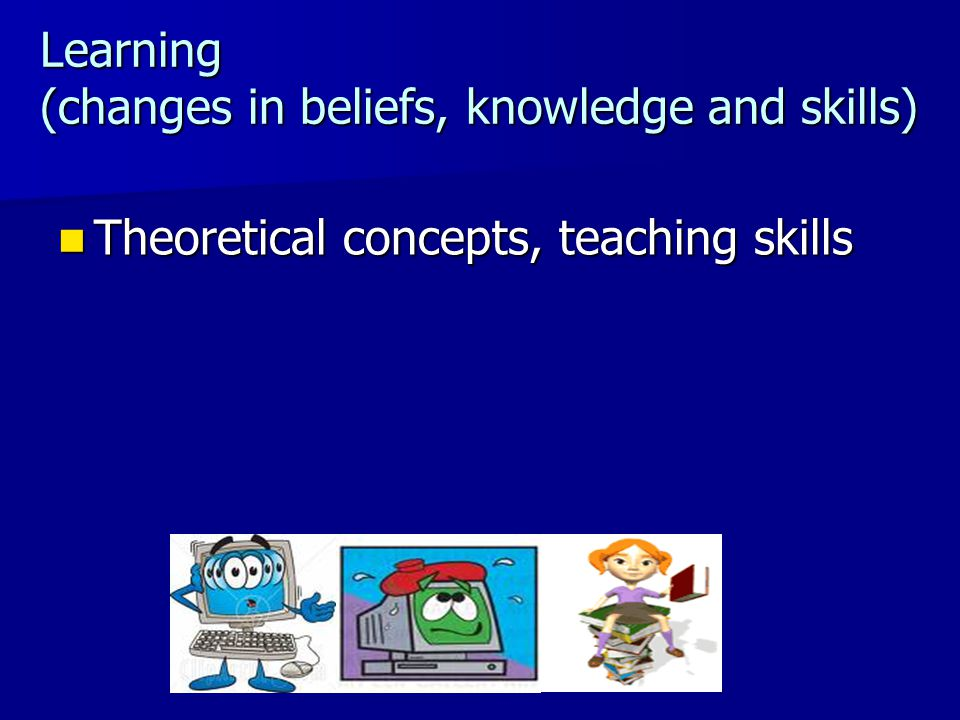 changes in my teaching beliefs In a long-term collaborative study of teacher change, my colleagues and i found that when a teacher tries new activities, she assesses them on the basis of whether they work: whether they fit within her set of beliefs about teaching and learning, engage the students, and allow her the degree of classroom control she feels is necessary.