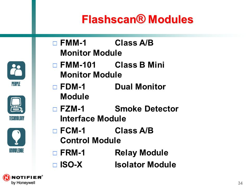 Flashscan%C2%AE+Modules+FMM 1+Class+A%2FB+Monitor+Module notifier onyx fire alarm system ppt video online download notifier fcm 1 wiring diagram at readyjetset.co