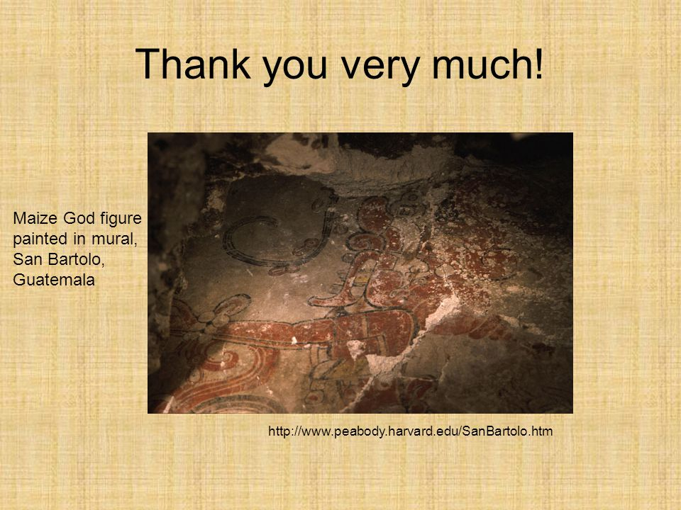 Claudia irene calderon ppt video online download for Thank you mural