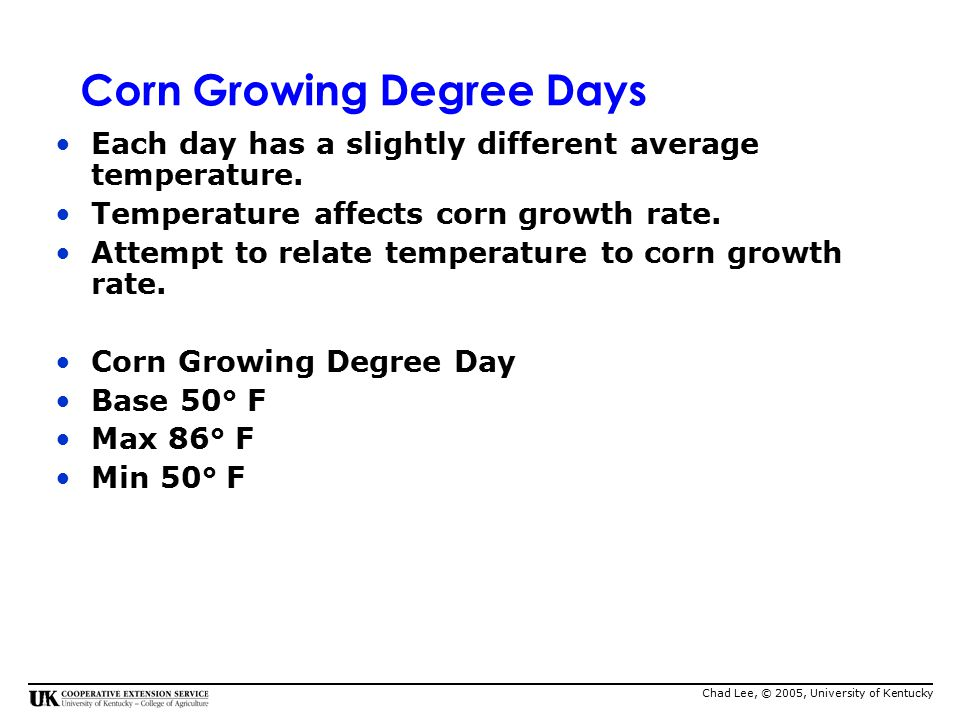 Corn Growth And Development Ppt Video Online Download - Gdd base 50 map us