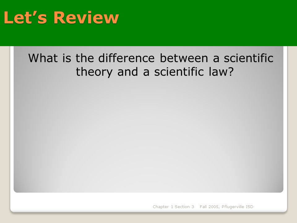 Difference between Models and Theories