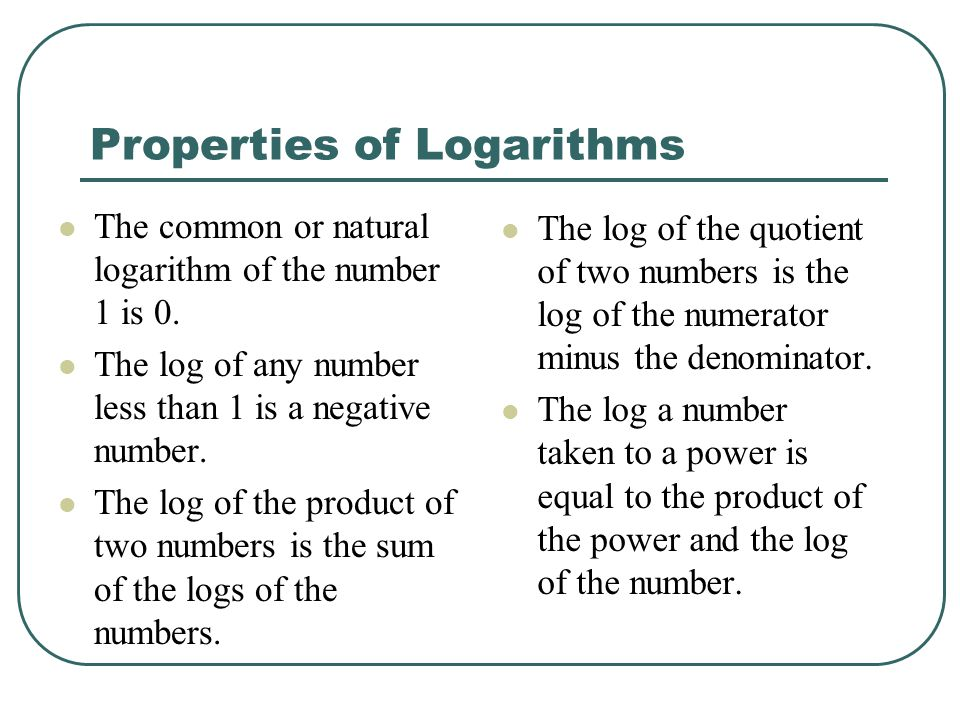 how to find the natural log of a number