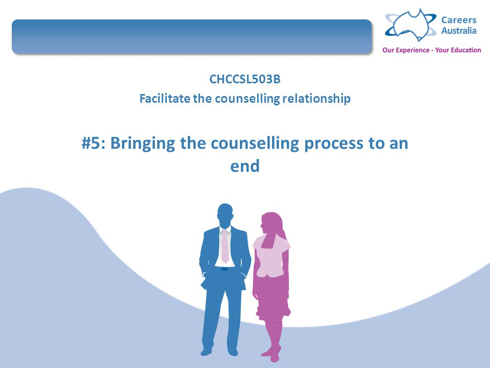 ending the client counsellor relationship