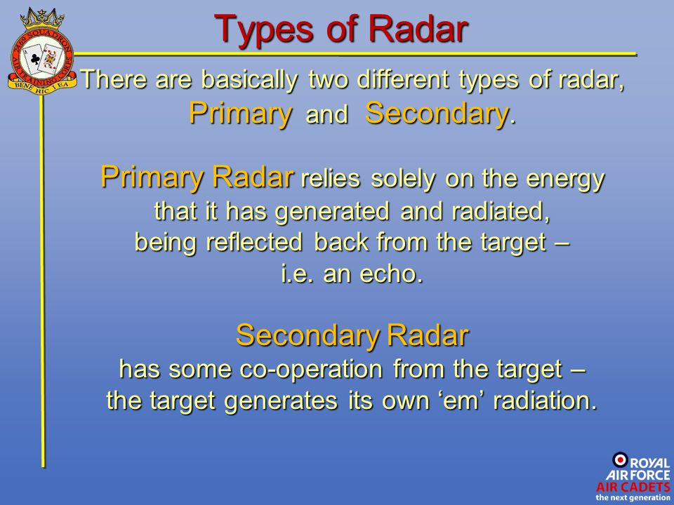 Advanced Radio And Radar Ppt Video Online Download