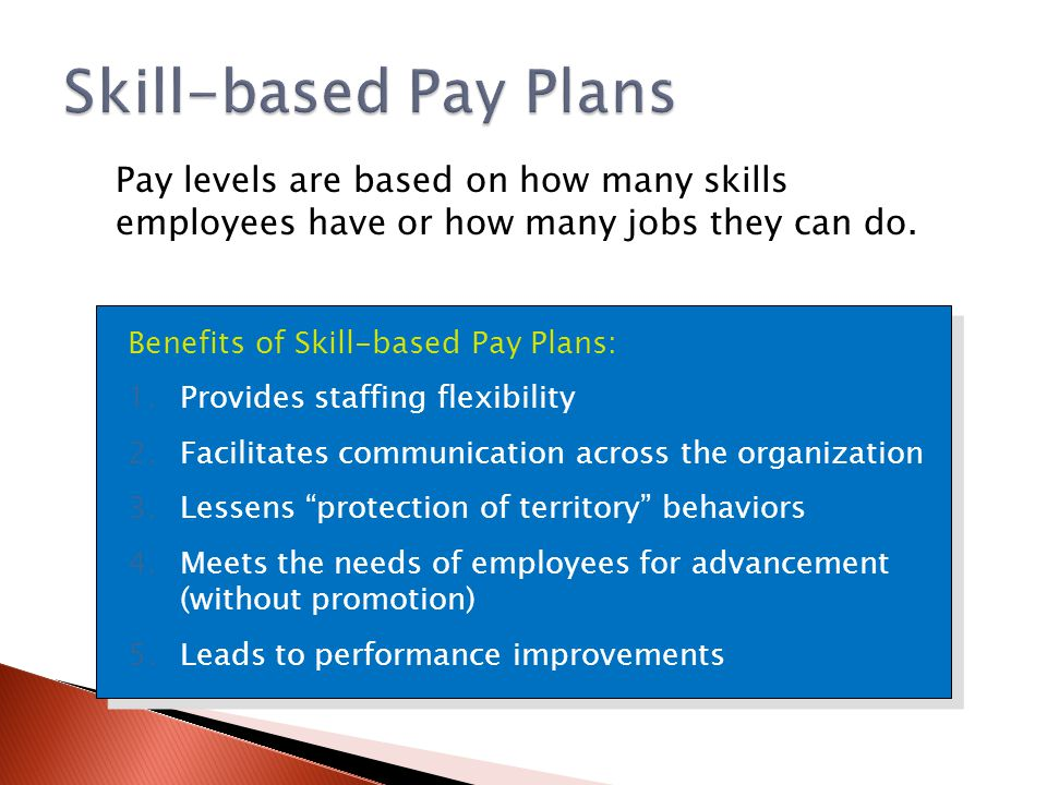 skill based pay Teacher salaries and teacher performance this innovation -- knowledge and skill -based pay -- rewards teachers with base pay increases and/or bonuses for.