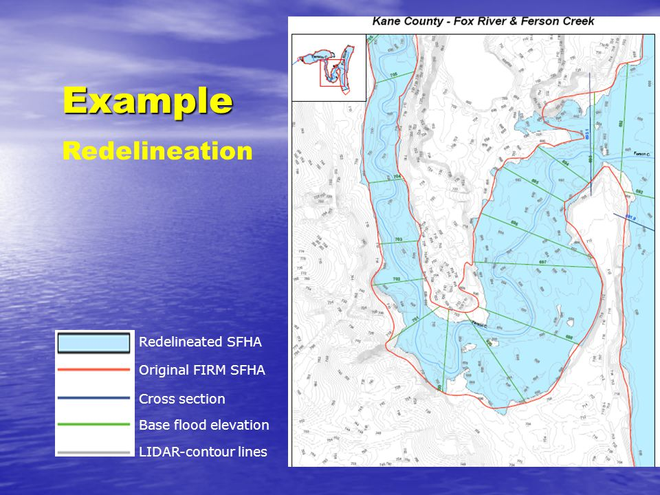 Delineation study areas