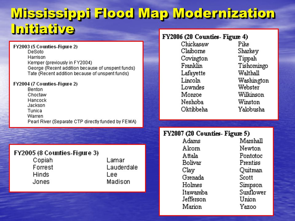 Chapter 3 maps and map changes ppt video online download 72 mississippi flood map modernization initiative publicscrutiny Gallery