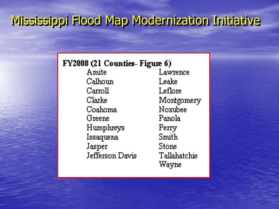 Chapter 3 maps and map changes ppt video online download 73 mississippi flood map modernization initiative publicscrutiny Gallery