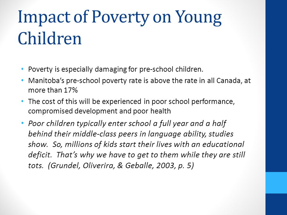 impact of poverty on children essay