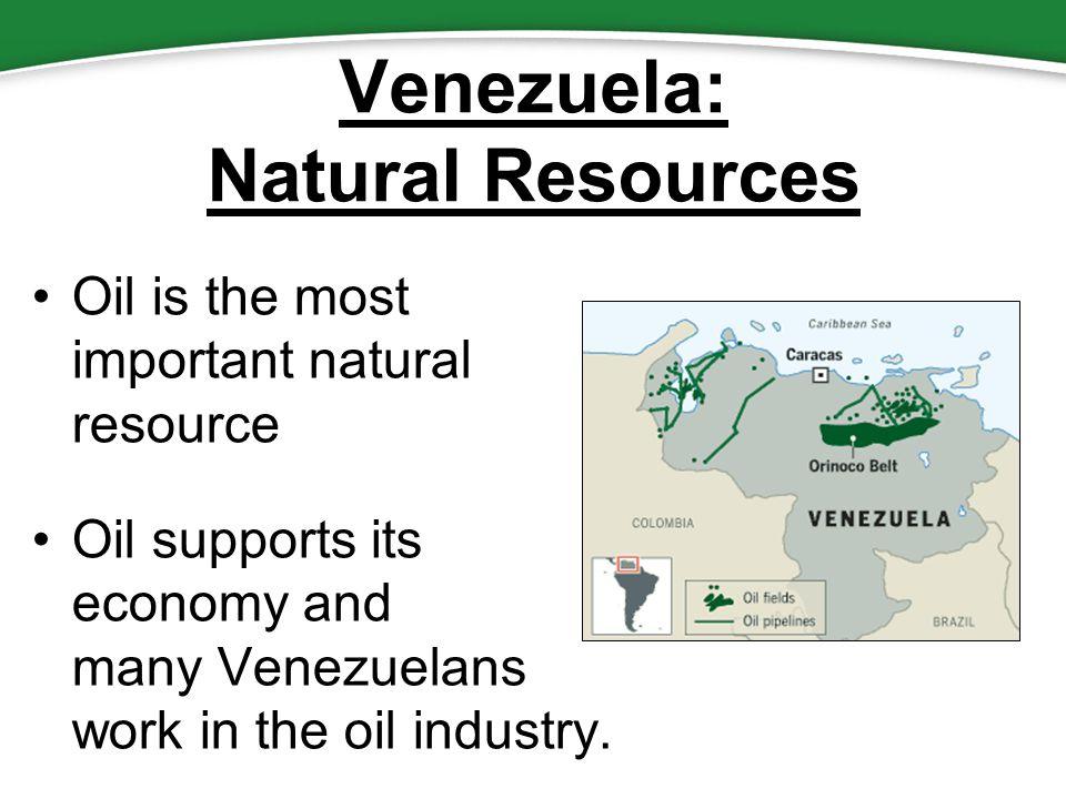 Venezuela Natural Resources Oil