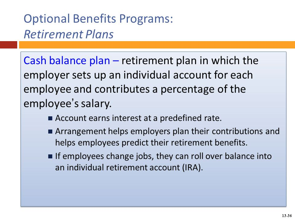 Chapter 13 Providing Employee Benefits - Ppt Download