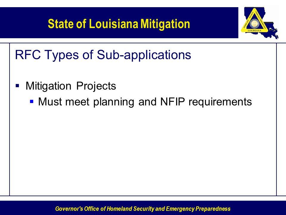 RFC Types of Sub-applications