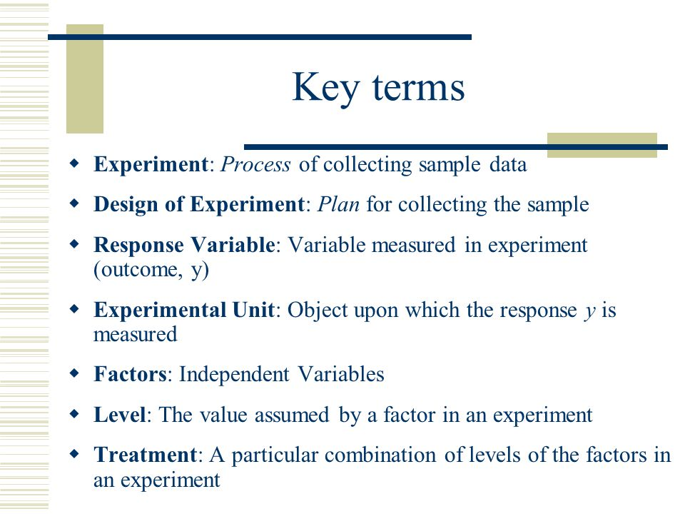 Principles of experimental design ppt download for How to plan and design an experiment