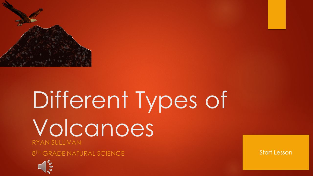 An introduction to the various types of volcanoes