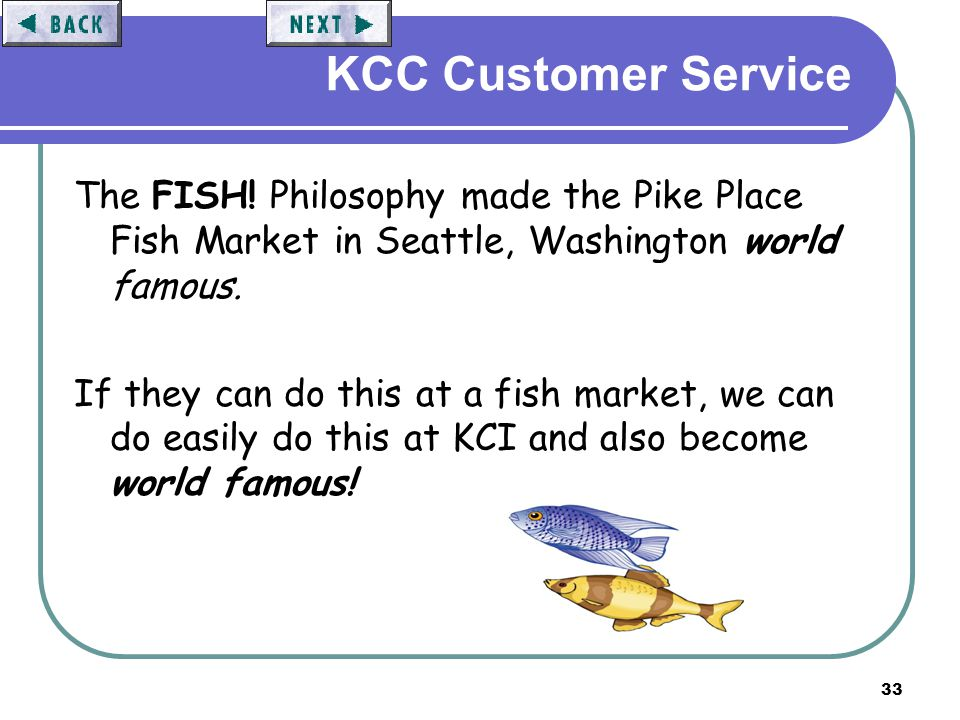 Customer service the basics ppt video online download for Famous fish market in seattle