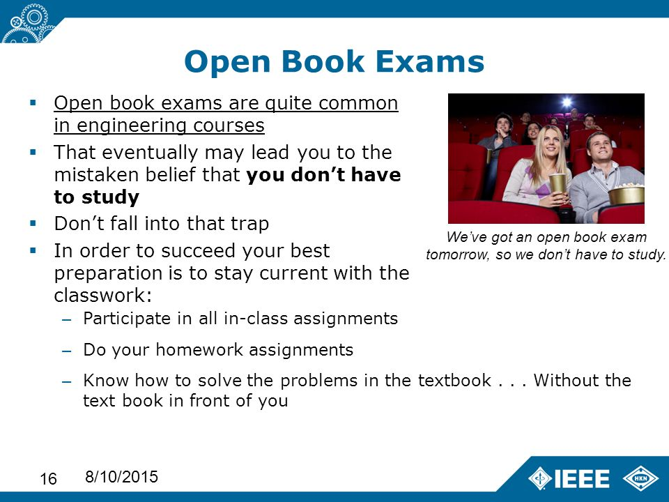 how to study for an open book law exam