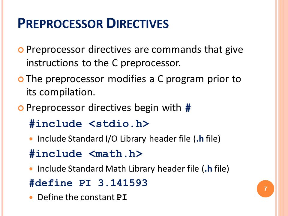 Ics103 Programming In C Ch2 Overview Of C Ppt Download