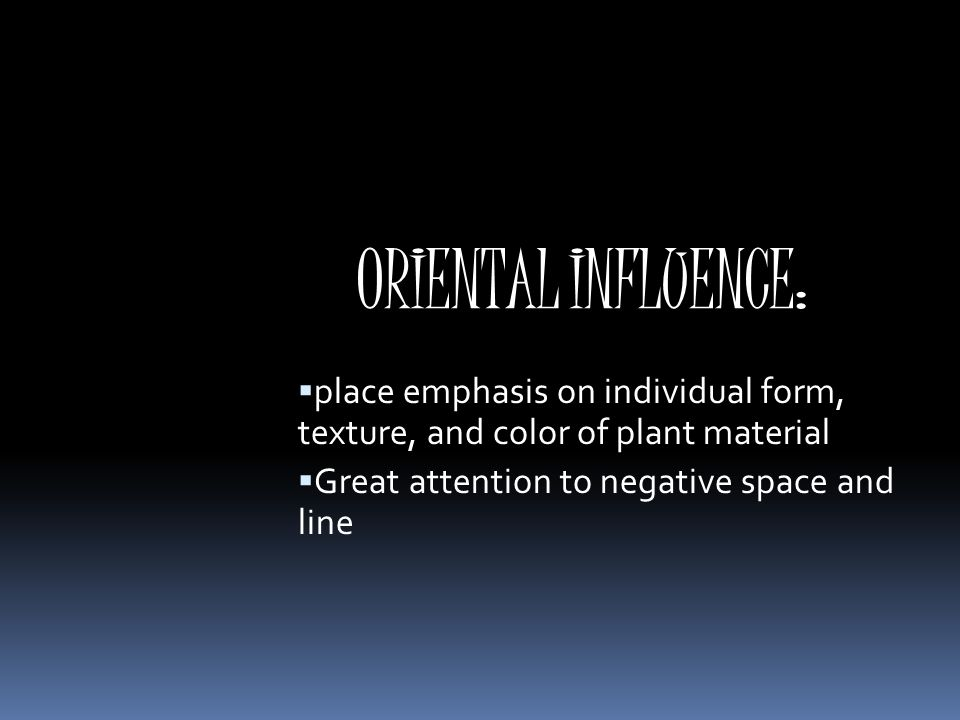 Floral design history floral design history ppt download for What is the difference between space and place