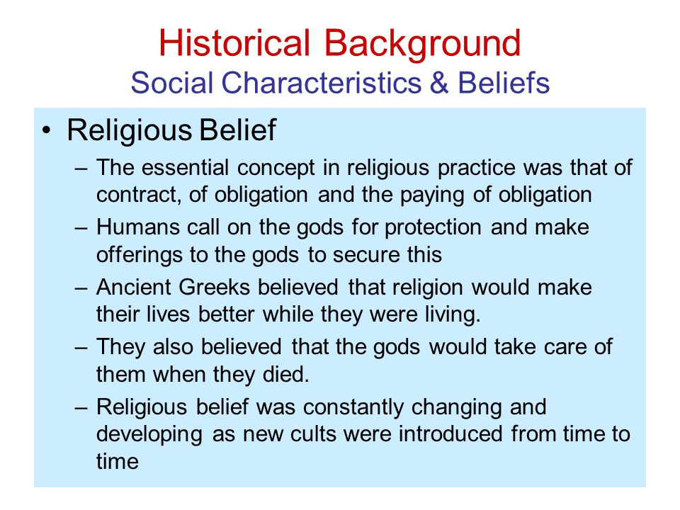 Are religious beliefs and practices changing