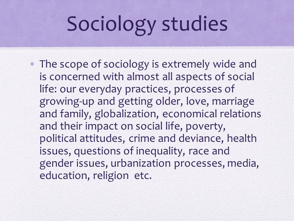sociology on marriage