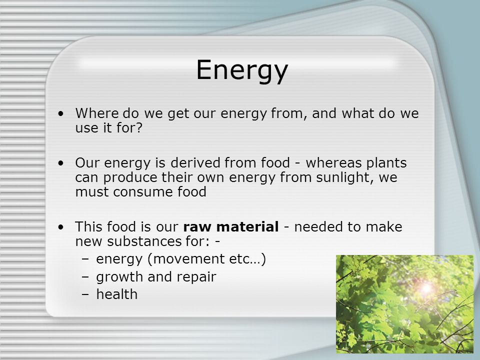 A balanced diet d crowley ppt video online download for What do we use trees for