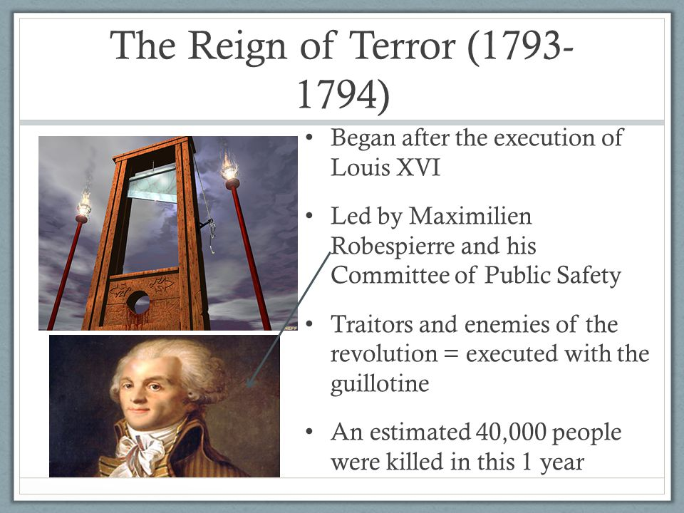 The French Revolution ( ) - ppt video online download