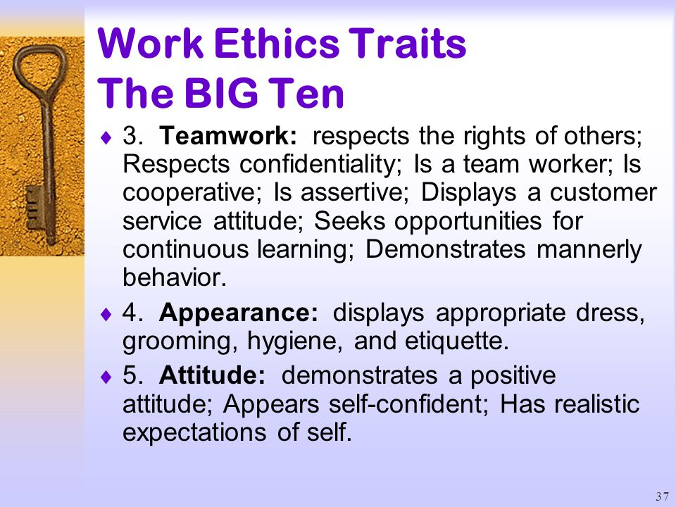 workplace ethics and attitudinal change They put their ethics before the putting yourself in these imaginary situations can help you work through your feelings and ethical leadership requires.