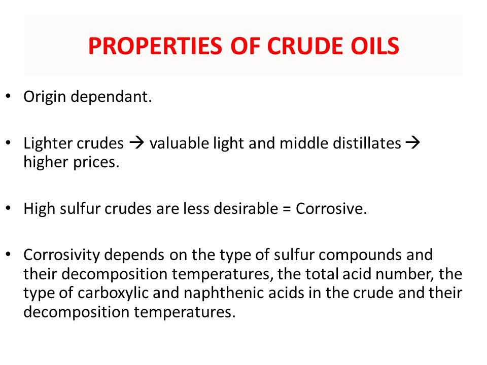 the many types of crude oil and its harmful compounds Crude oil is a mixture of compounds called hydrocarbons many useful materials can  fossil fuels such as crude oil and its  types of hydrocarbon, but.