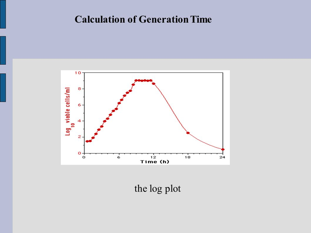 Calculation of Generation Time