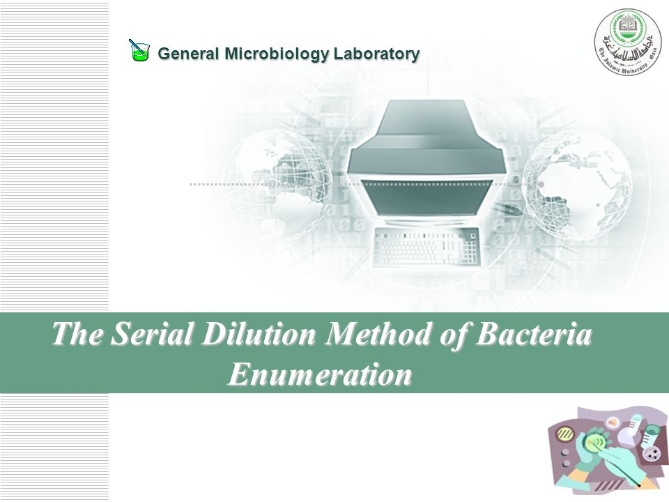 enumeration of bacteria in a population Microbial enumeration and laboratory-scale microcosm studies in (ie, denitrifying bacteria were present) population densities were evaluated based on the.