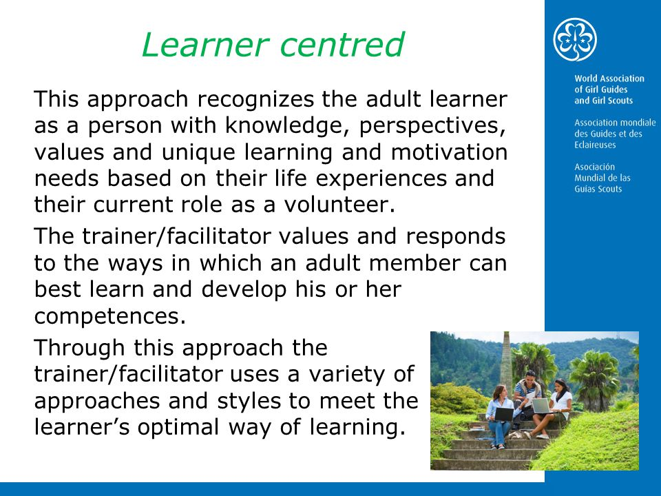 Learner centred