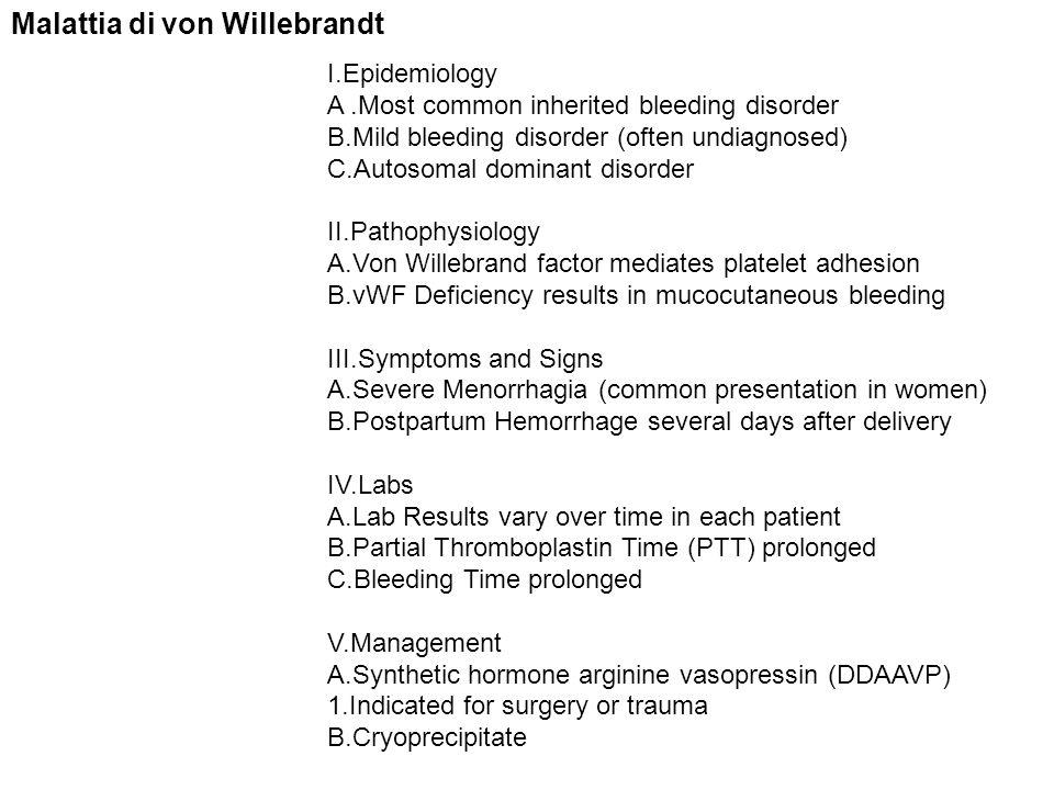 Malattia di von Willebrandt